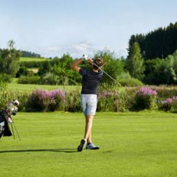 Golfpark Waldkirch Golfer